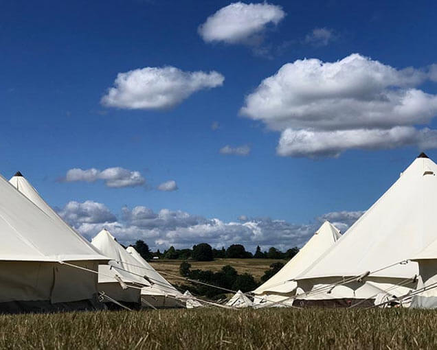 bell tents hire glastonbury 2020