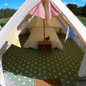 book classic bell tent glastonbury