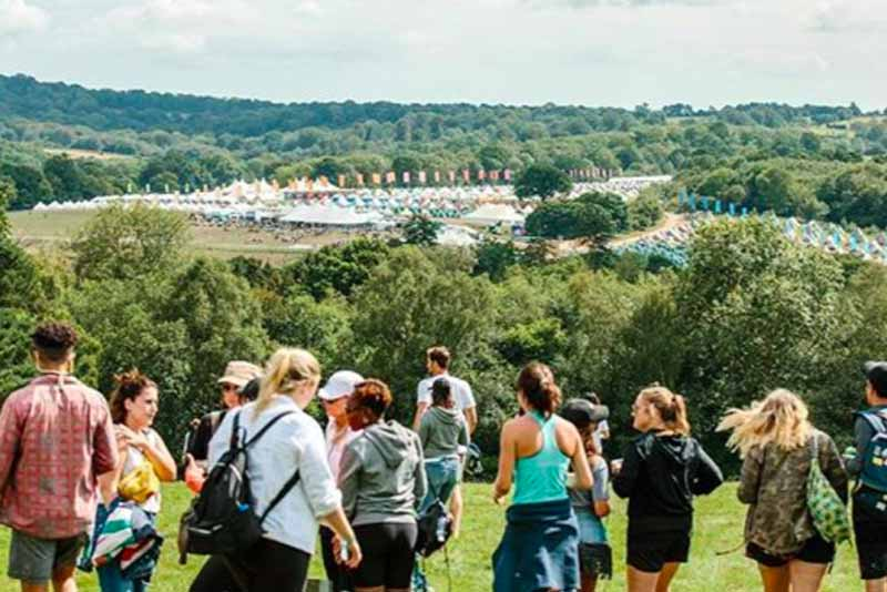 book camping at glastonbury 2020