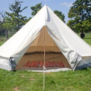 glastonbury empty bell tent hire